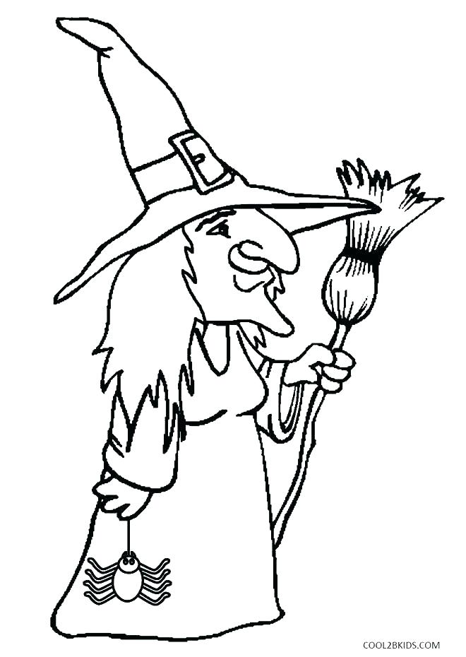 660x930 Coloring Pages Of Witches Witches Coloring Pages Witches Coloring