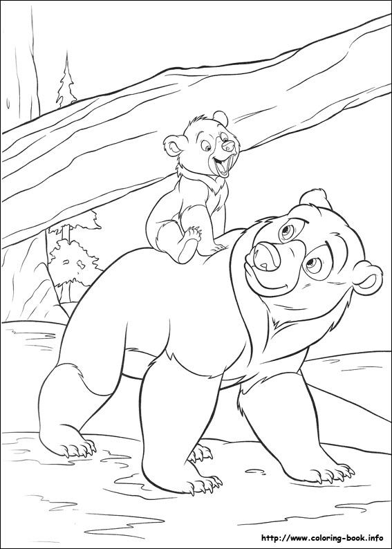 567x794 Brother Bear Coloring Picture Disney Coloring Pages