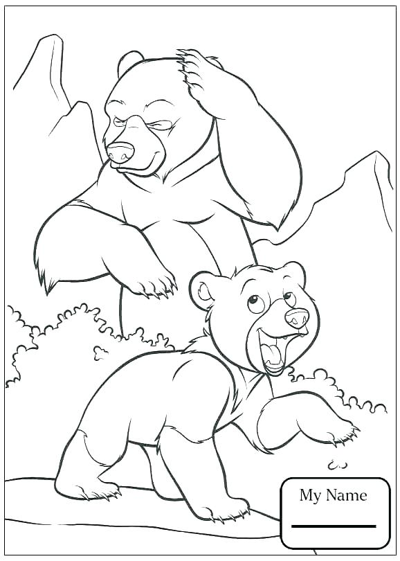 578x810 Brother Bear Coloring Pages Coloring Pages Bear And Coloring Pages