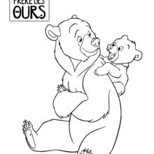 220x220 Brother Bear Coloring Pages