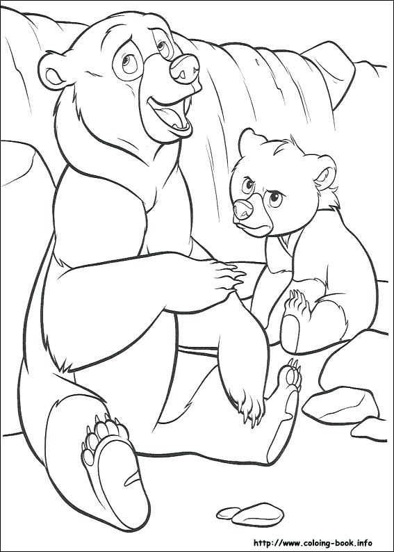567x794 Coloring With Brother Bear Coloring Pages Brother Bear Pictures