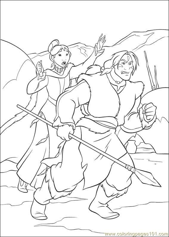 567x794 Brother Bear Coloring Page