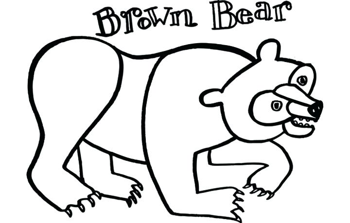 720x460 Free Eric Carle Printables Brown Bear Coloring Pages Coloring