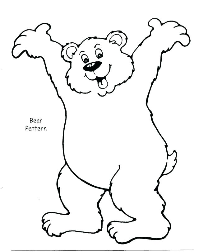 640x809 Brown Bear Brown Bear Coloring Pages Coloring Book Brown Bear
