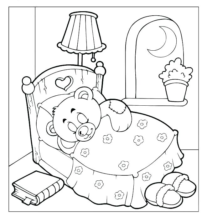 661x707 Coloring Pages Extraordinary Brown Bear Brown Bear Printable Brown