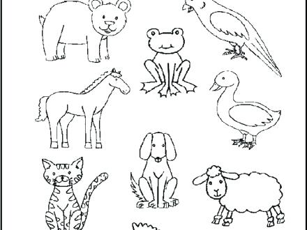 440x330 Brown Bear Brown Bear Coloring Sheets Brown Bear Brown Bear What