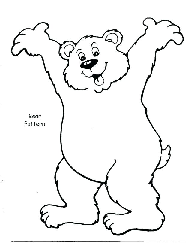 640x809 Brown Bear Coloring Page Brown Bear Coloring Page Brown Bear