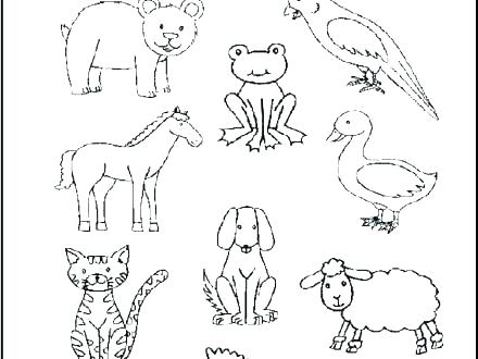 440x330 Brown Bear Coloring Pages Baby Pooh Bear Coloring Sheets Kids