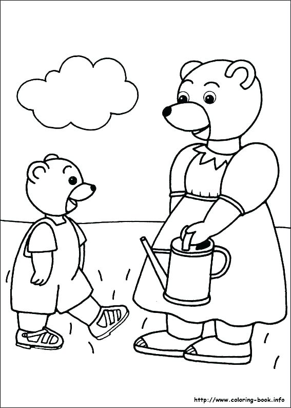 567x794 Polar Bear Coloring Page Little Bear Coloring Pages Brown Bear