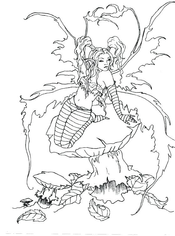 559x751 Charming Design Brown Coloring Book Best Fairy Coloring Pages