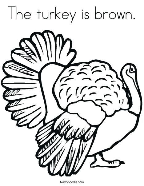468x605 Thanksgiving Turkey Coloring Pages Pdf Printable Coloring