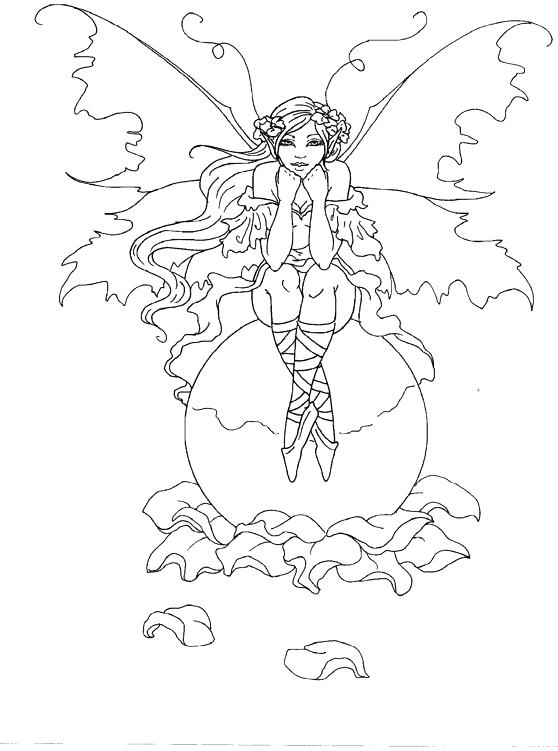 558x751 Amy Brown Coloring Pages