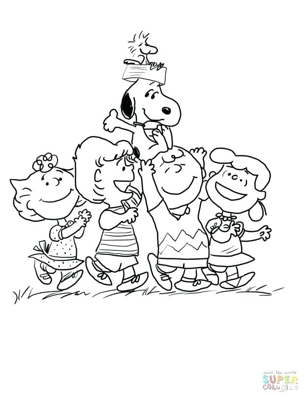 618x807 Charlie Brown Coloring Pages