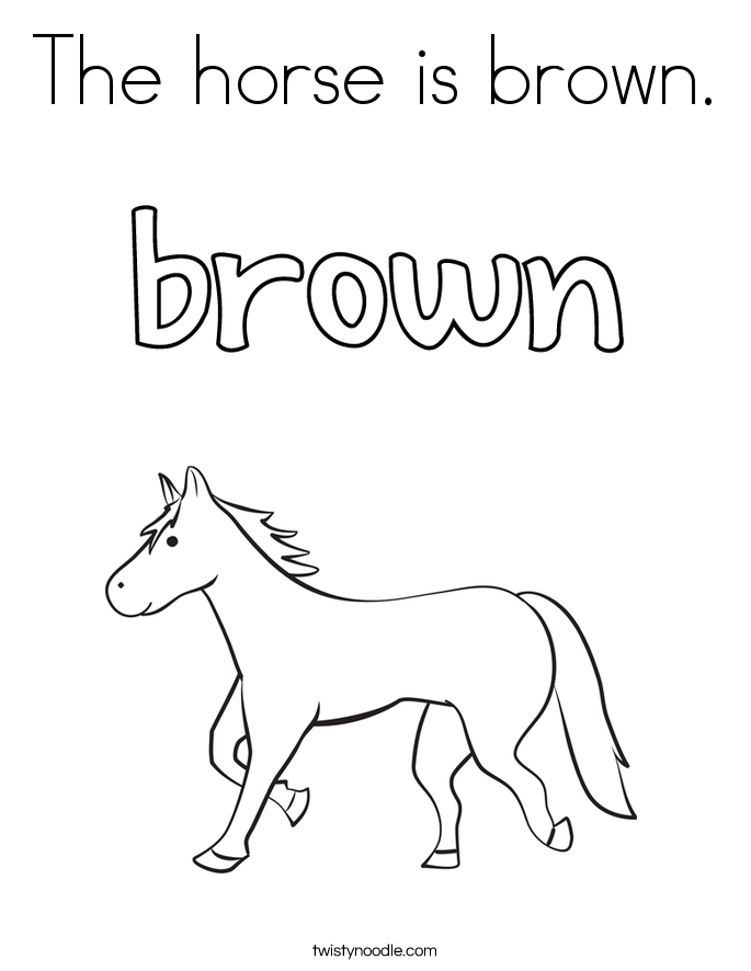 685x886 Brown Coloring Pages