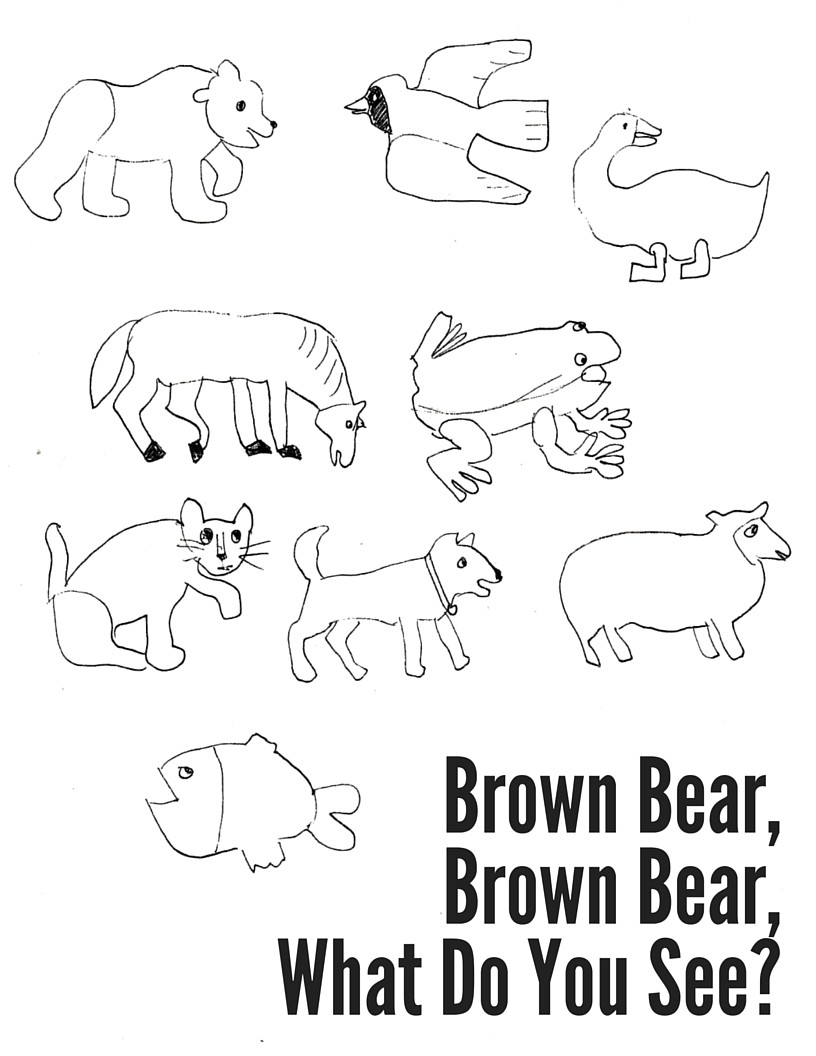 816x1056 Brown Coloring Pages Preschool New Bear