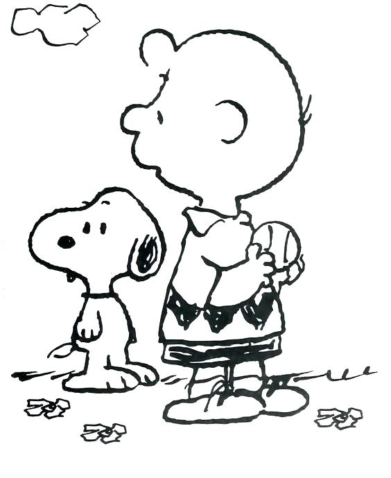 564x690 Charlie Brown Christmas Coloring Pages As Well As Charlie Brown