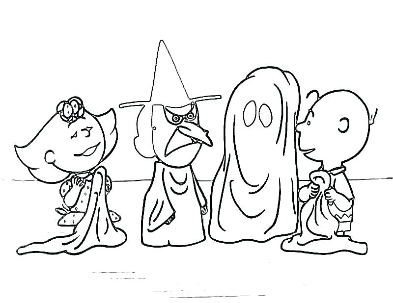 800x618 Halloween Coloring Pages For Preschoolers