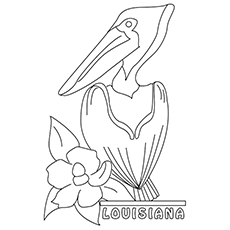 230x230 State Coloring Sheets For Lousiana