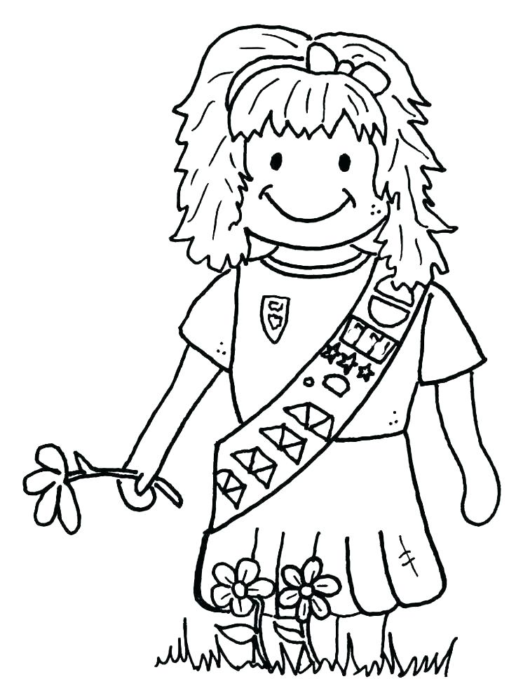 736x968 Daisy Girl Scouts Coloring Pages Daisy Girl Scouts Coloring Pages