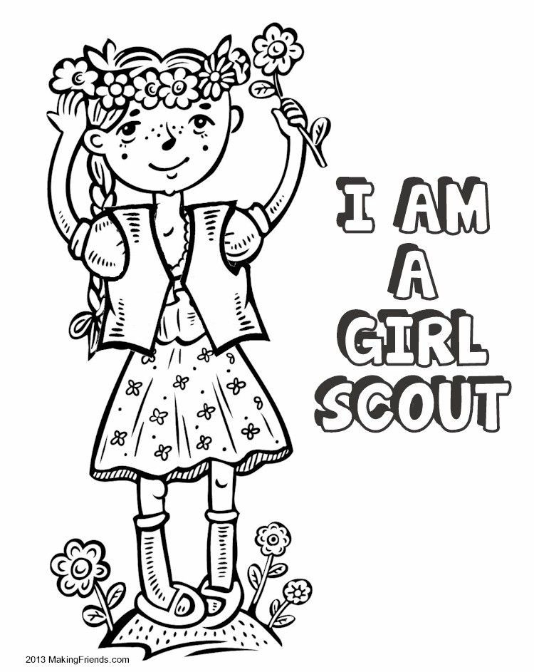 750x943 Girl Scout Coloring Pages For Brownies Fresh Madagascar Thinking
