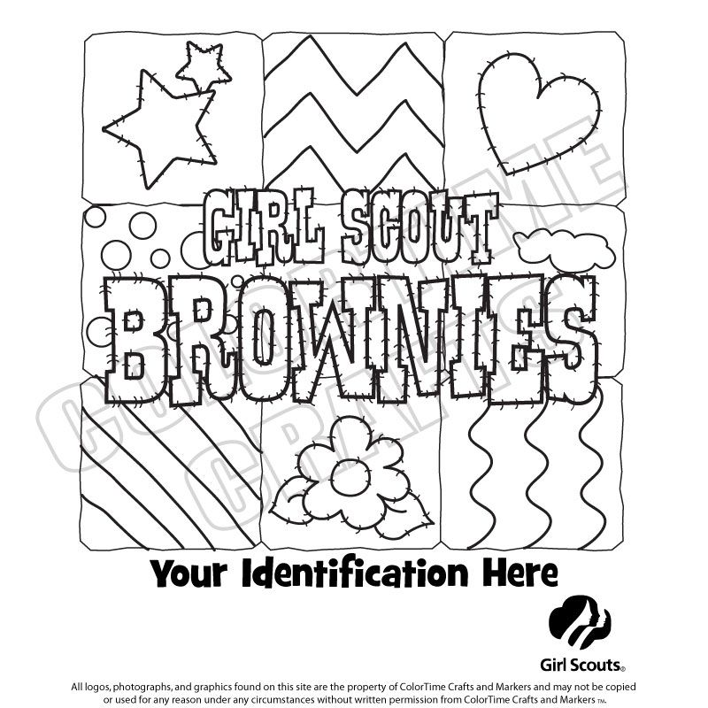 800x800 Girl Scout Coloring Sheets Brownie Girl Scout Basics Clothing
