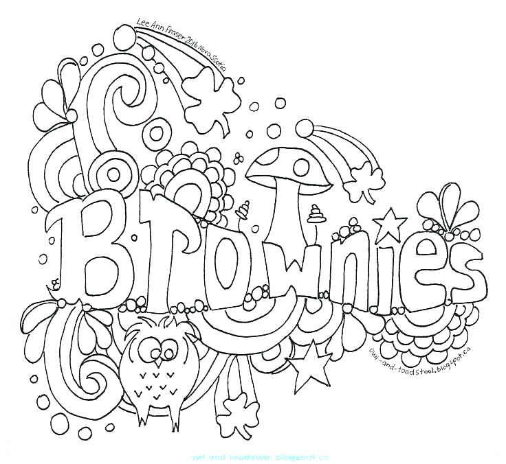 Chocolate Brownie | Coloring pages, Online coloring, Online ... | 676x736