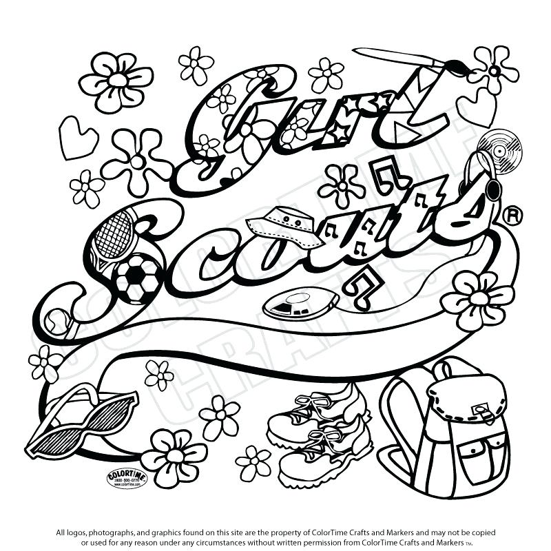 800x800 Brownie Girl Scout Coloring Pages Images About Gs Coloring Sheets