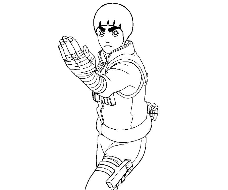 800x667 For Lee Colouring Pages Rock Lee Face Colouring Pages Robert E