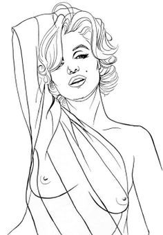 236x339 Printable Marilyn Monroe Coloring Pages