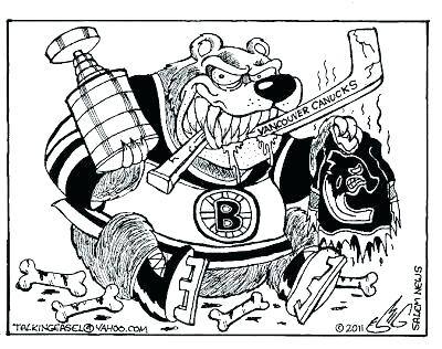 Bruins Coloring Pages At Getdrawings Free Download