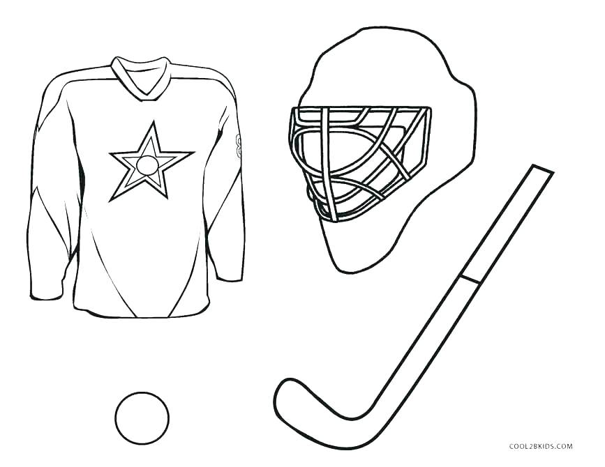 867x670 Hockey Player Coloring Pages Vanda