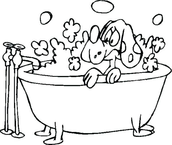600x508 Bubbles Coloring Page