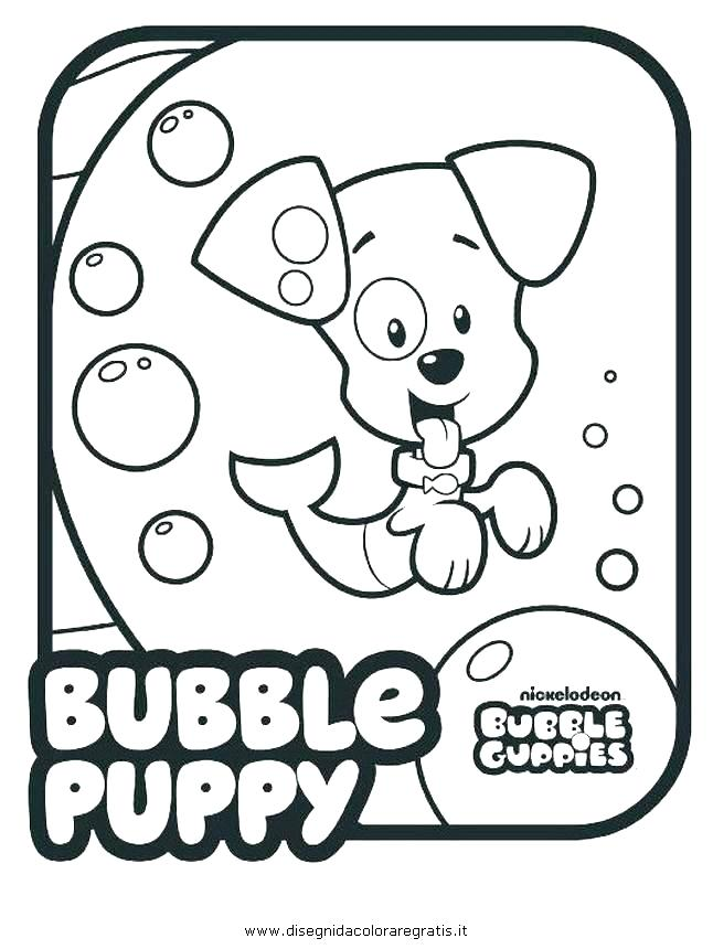 646x860 Bubbles Coloring Page Bubble Guppies Coloring Pages Bubble Guppies