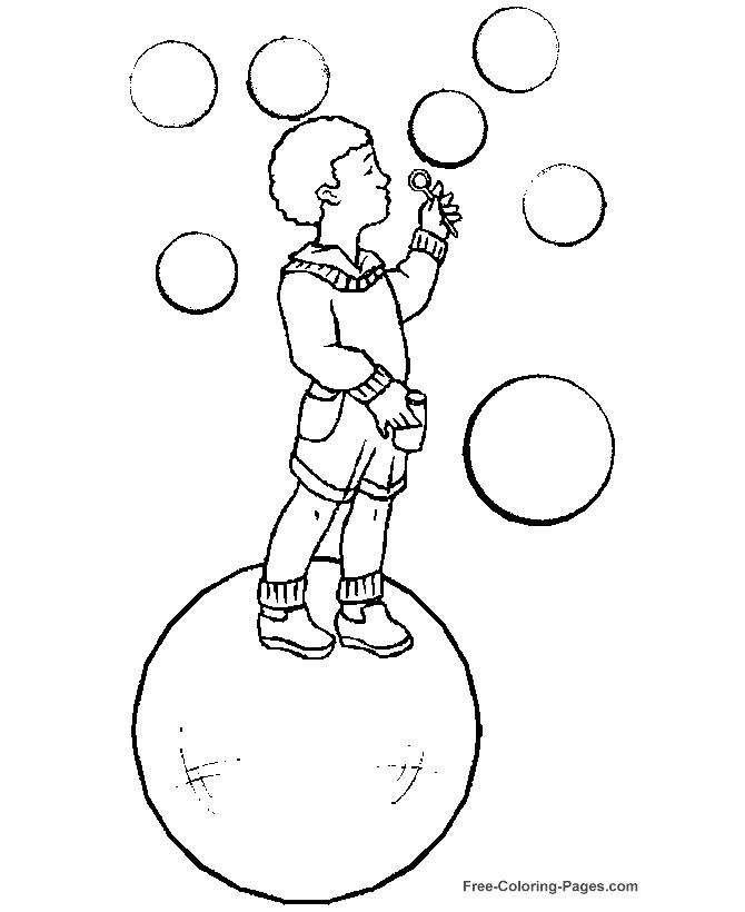 670x820 Bubbles Coloring Page Printable