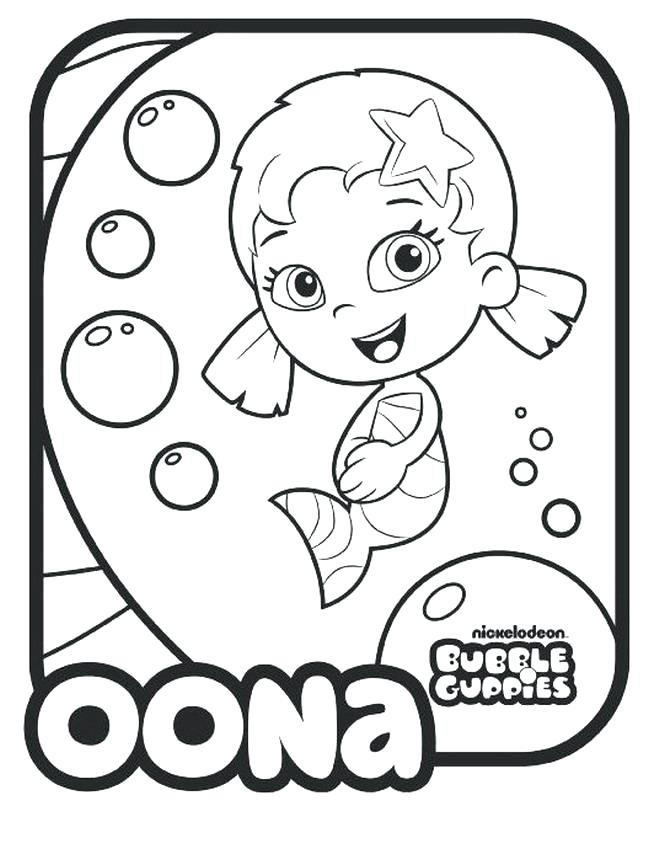 648x860 Incredible Ideas Printable Bubble Guppies Coloring Pages Book Many