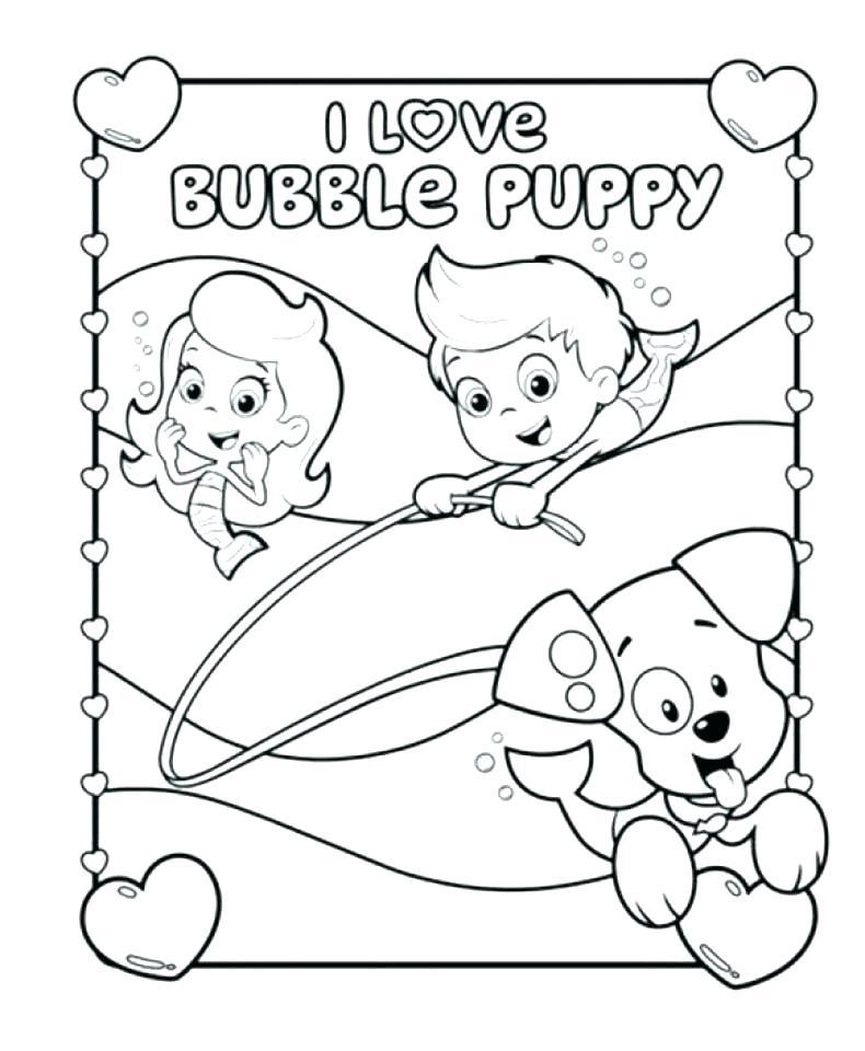 790x960 Bubble Guppies Coloring Books Plus Bubbles Coloring Page Girls
