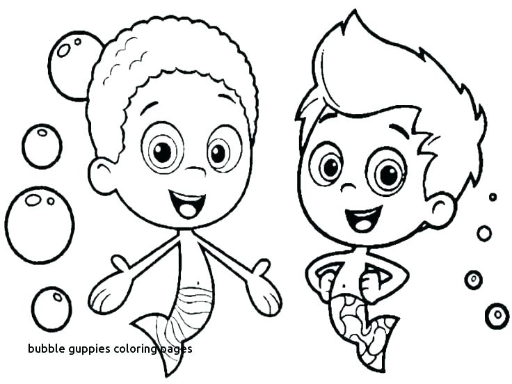 736x552 Bubble Guppies Coloring Pages Bubble Guppies Coloring Page