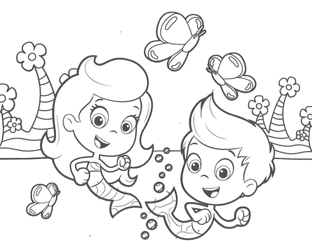 998x779 Bubble Guppies Coloring Pages Bubbles Coloring Pages Molly Bubble