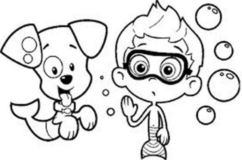 960x638 Get This Free Bubble Guppies Coloring Pages To Print