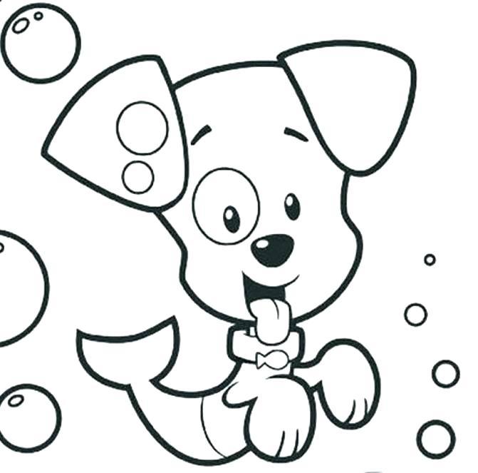 671x663 Bubble Guppies Coloring Sheets