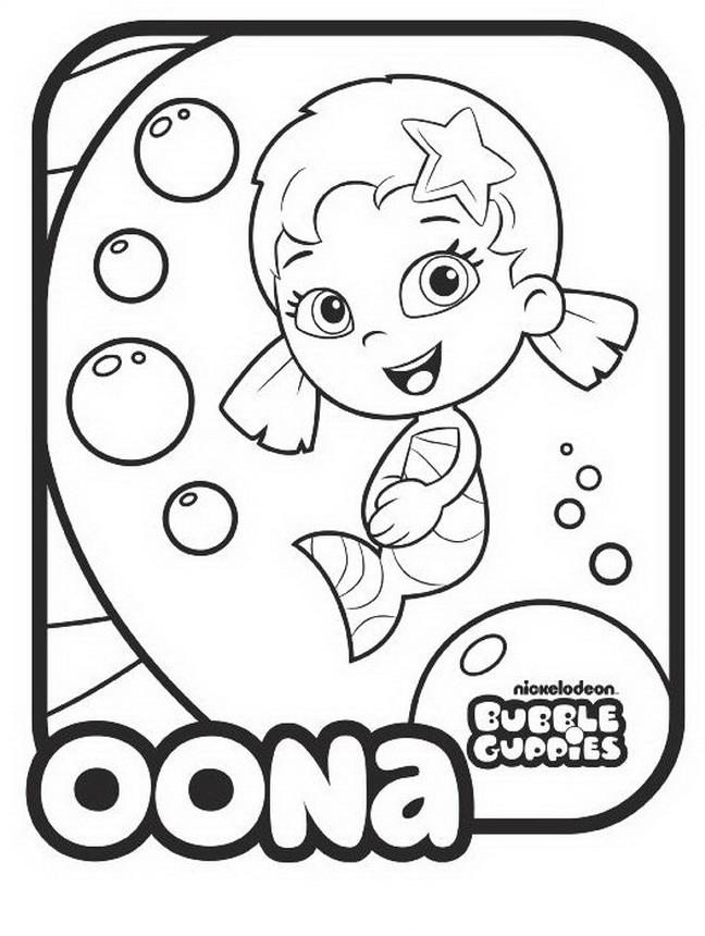 648x860 Bubble Guppies Coloring Book