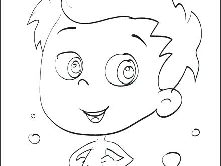 440x330 Bubble Guppies Coloring Pages Molly
