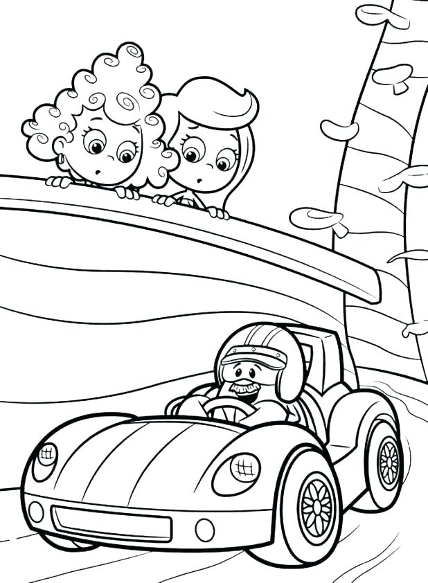 618x842 Bubble Guppies Printable Coloring Pages Bubbles Coloring Pages