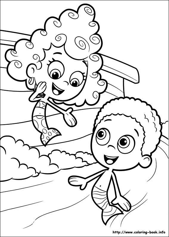 567x794 Bubble Guppies Coloring Pages On Coloring