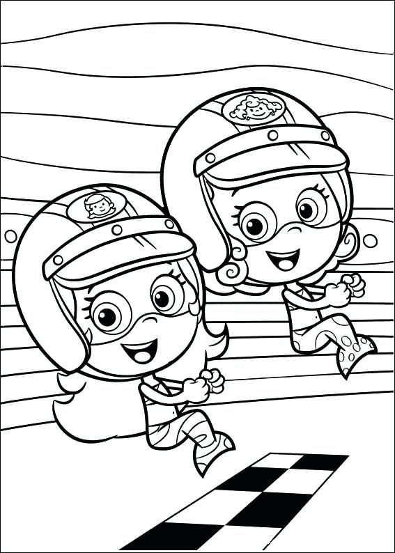 567x794 Printable Molly Bubble Guppies Coloring Pages Cartoon Bubbles Free