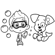 230x230 Bubble Guppies Coloring Pages