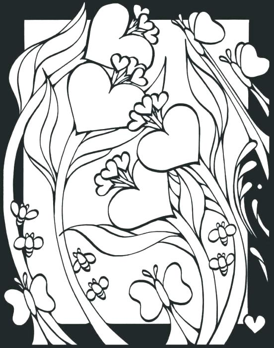 552x701 Coloring Pages Of With Coloring Pages Of Deer Browning Symbol
