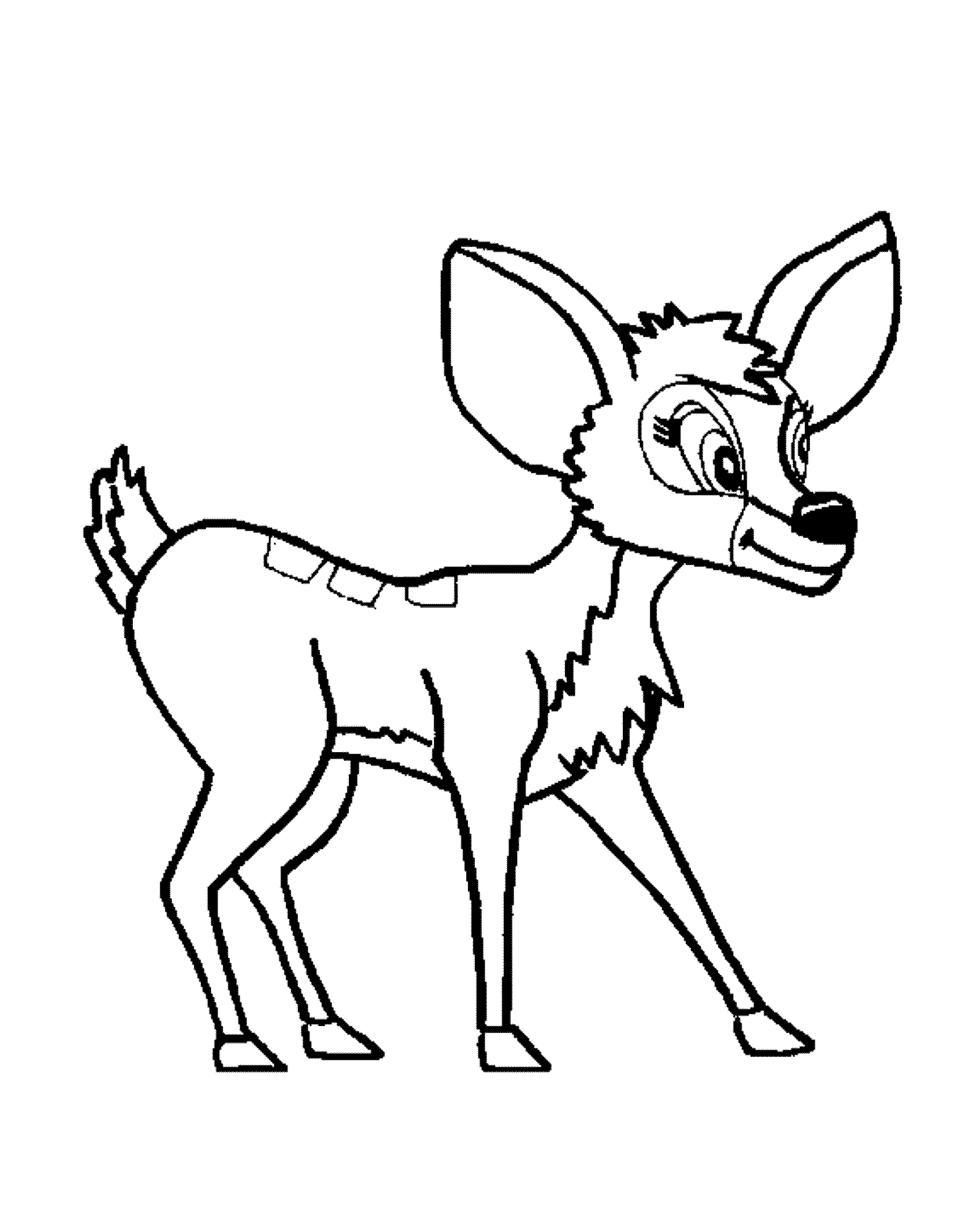 2000x2500 Deer Coloring Sheets To Print Kids Colouring Pages