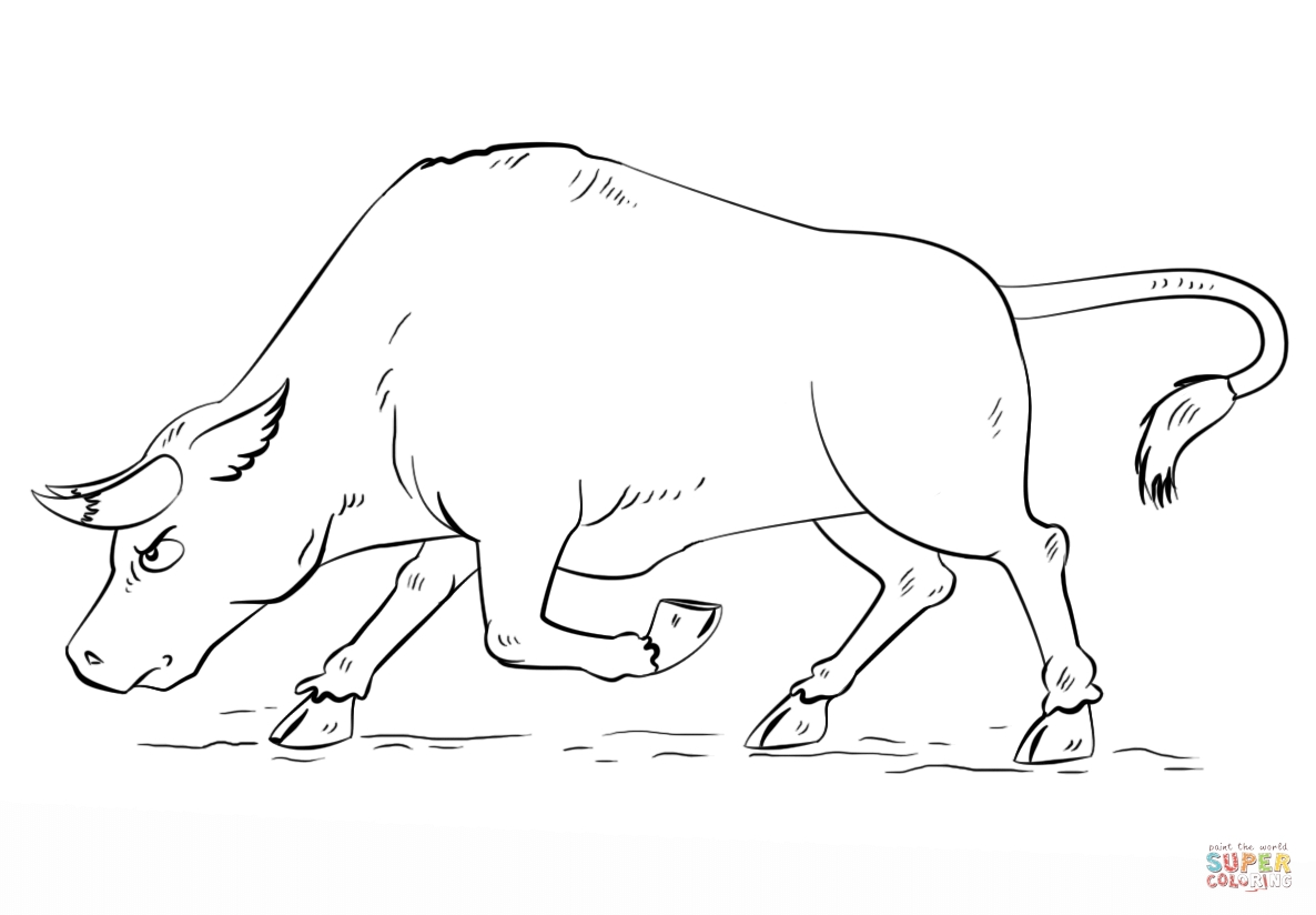 1186x824 Launching Bucking Bull Coloring Pages Collections Free Coloring