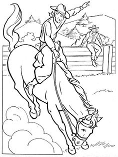 236x313 Free Printable Rodeo Coloring Pages Free Fun Rodeo